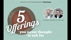 Webinar: 5 Offerings You Never Thought to Ask For
